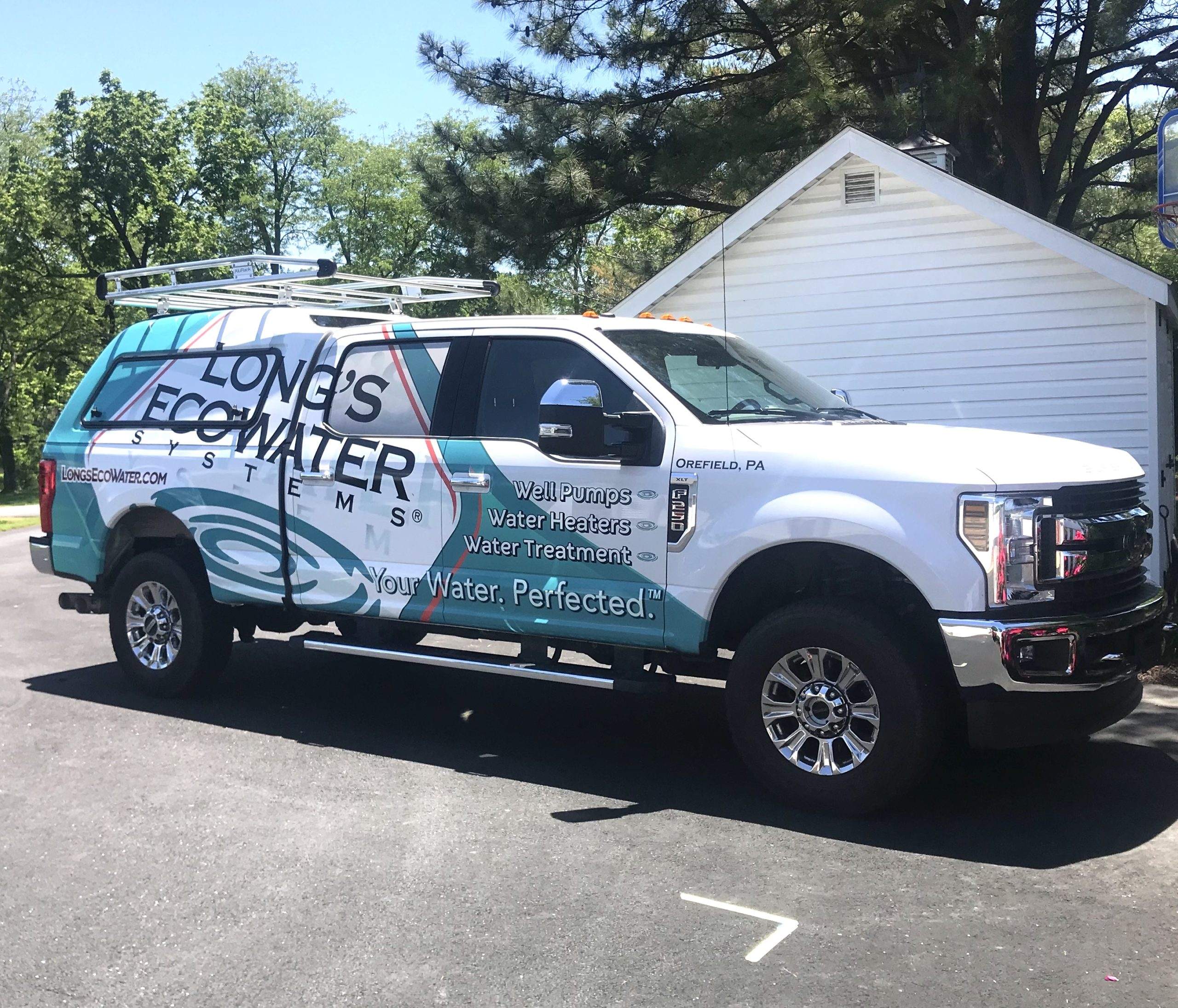 Long's EcoWater Truck